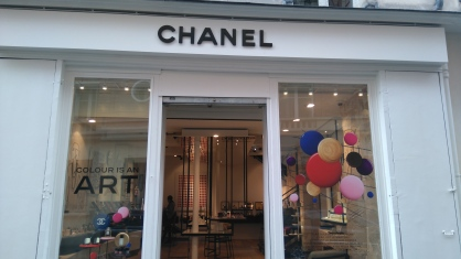 Boutique CHANEL BEAUTÉ le Marais
