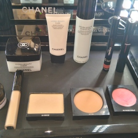 Produits utilisés : Soins + Make Up