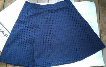 Jupe bleue marine Naf Naf