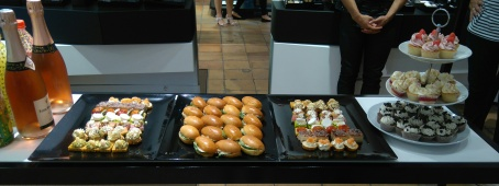 Buffet soirée lancement collection maquillage automne hiver CHANEL .jpg