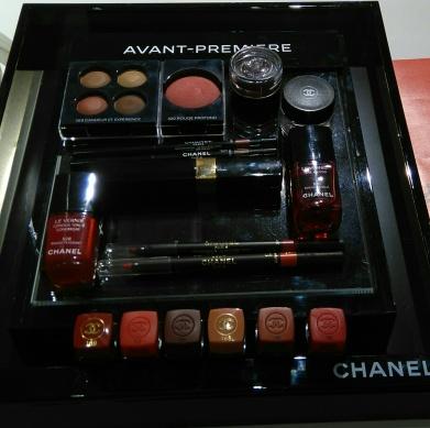 Collection maquillage automne hiver CHANEL en avant première