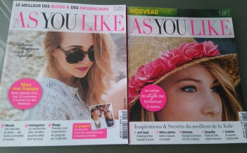 As you like : le magazine des blogs et influenceurs