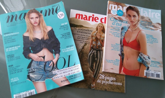 Madame et Marie-Claire magazine