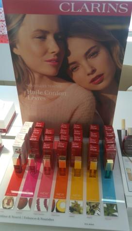 Huile confort lèvres Clarins