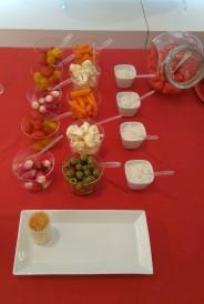 Légumes apéritif
