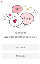 Premier écran My Beauty Community