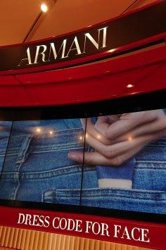 Stand Armani - Printemps de la beauté