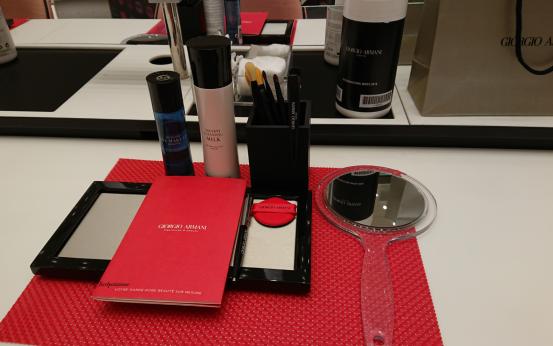 Espace Makeup Masterclass Armani Beauté